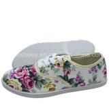 Ботинок отдыха впрыски ботинка холстины новых женщин плоский (XY0720-02)