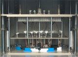 De plastic Stukken van het Werk door de Plastic Machine van het Lassen