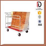 Haute qualité plancher de danse de métal chariot mobile