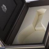 Rectángulo de regalo de lujo del papel del rectángulo del conjunto del papel hecho a mano para el vino