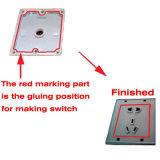 Venda quente que cola a máquina adesiva do derretimento quente da máquina para o interruptor da parede