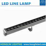 indicatore luminoso lineare esterno impermeabile 10W 12W della barra di profilo LED della proiezione SMD5050 dell'hotel di 1000mm