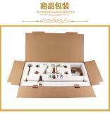 Jogo de bronze cerâmico Azul-e-Branco chinês do chuveiro de chuva do punho Zf-609 do projeto novo único
