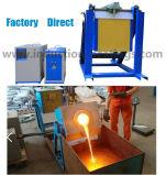 forno di fusione di induzione 50kw per oro d'acciaio di alluminio di rame