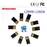 Qualidade superior e preço baixo UDP Black Colloid Produtos USB Flash Drive para Venda por atacado e em massa 128MB-128GB