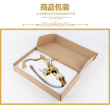 2016 Nuevo diseño de una manija para ZF-703 Jade latón grifo de la cocina