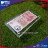 Châssis en acrylique transparent de gros de l'argent