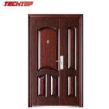 Puerta de acero de la seguridad de Buildng de la casa moderna de TPS-078sm