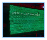 Module simple Semi-Extérieur d'Afficheur LED de Vert-Couleur