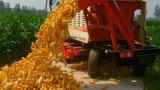A melhor maquinaria da colheita da liga do milho de três fileiras