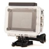cámara subacuática de Kamery Sportowe HD WiFi los 30m de la cámara del deporte de 4k 30fps
