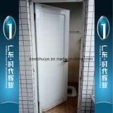 Forte e portello di alluminio duro della stanza da bagno del portello della stoffa per tendine