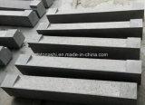 회색 현무암 돌 포장하거나 벽 도와 또는 조약돌