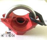 Té mécanique de boulon en U malléable coté de fer de FM/UL pour des installations d'extinction automatique d'incendie