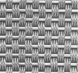 Кабель металлической сетки с металлическими штырями и металлического кабеля