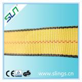 6:1 di fattore di sicurezza dell'imbracatura della tessitura del doppio occhio del poliestere di 3t*10m