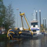 油圧10インチのカッターの吸引の浚渫船