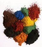 Óxido de hierro negro rojo para el pigmento concreto del óxido de hierro del ladrillo del camino de la pavimentadora para el ladrillo del color