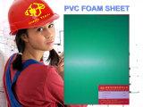 Feuille de mousse PVC vert pour le Conseil Setting-Cut 6-20mm