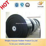 Correia transportadora de nylon resistente da tela preta (GV, ISO9001)