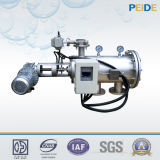 Filtro de água auto-limpador automático de aço inoxidável para sistema de ar-condicionado