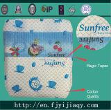 Bonne qualité de coton de couches pour bébés jetables