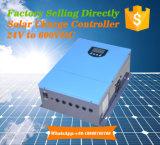 С двумя входами солнечной энергии на контроллер заряда аккумуляторной батареи по линии системы