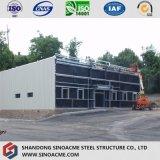 Système mobile de matériel de structure métallique avec le toit plat