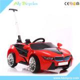 リモート・コントロール二重駆動機構車の子供の電気自動車を手で押しなさい