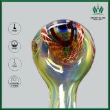 Glaslöffel-Rohr mit Innere - heraus multi Farbe gefrittete Dampfweed-Pfeife