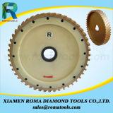 Roues de calibrage de diamant de Romatools
