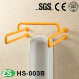 Желтая и белая покрашенная штанга самосхвата изделий обеспеченностью санитарная