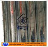 Strato d'acciaio ondulato del tetto galvanizzato Bwg32