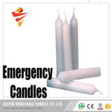[45غ] منزل سهل شمعة يستشفّ أبيض عالية عصا شمعة