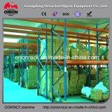 가벼운 강철 구조물 창고 선반