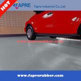 Antibeleg-fein gerippter Gummimatten-Fußboden