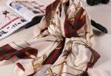 Vente en gros Echarpe en satin carré à bas prix en mousseline de soie