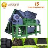 Pour la vente de l'arbre Double Shredder machine de recyclage des déchets et de coupe en caoutchouc