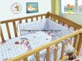 Van het Katoenen van 100% de Reeks van de Voederbak van de Reeksen Beddegoed van de Baby 3PCS