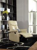 Sofà del cuoio genuino del salone (C408)