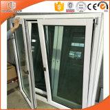 Окно Casement одетого термально пролома твердой древесины алюминиевое, окно Casement хорошего проведения Жар-Изоляции алюминиевое