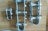 Adaptador de la línea eléctrica tipo Cable Halvanized U Tipo doble cable de alambre tensor de la oferta