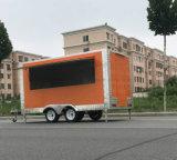 Быстро-приготовленное питание Van профессионального мотоцикла передвижное