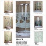 quarto colorido do cerco do chuveiro do vidro Tempered de 6mm para o banheiro