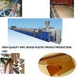 Machine en plastique d'extrusion WPC de profil à haute production de la qualité