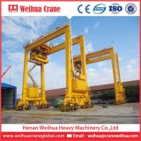 Fornitore della gru Top1 in gru a cavalletto di gomma del pneumatico della Cina Weihua Rtg