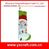 """크리스마스 훈장 (ZY14Y635 30 """") 눈사람 스타킹 한 벌"""