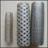 Personalizar a câmara de ar de filtro da tela do engranzamento do fio do aço inoxidável/os cilindros perfurados Ss do filtro do metal/câmara de ar aglomerada do engranzamento de fio do aço inoxidável 316