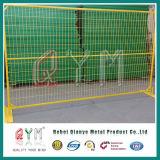 Горячая окунутая гальванизированная загородка сваренной сетки временно для конструкции