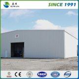 Edificio de acero prefabricado galvanizado Q345 del taller